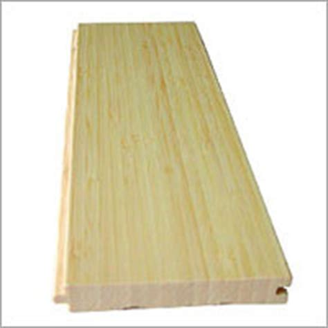 Natural Vertical Edge Grain Bamboo Parquet Flooring