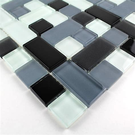 carrelage noir joint noir bathroom glass mosaic and kitchen cubic noir carrelage inox fr