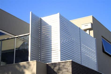 aluminium slat privacy screen aluminium glass privacy