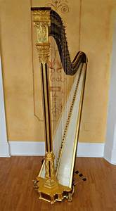 Erard Gothic Pedal Harp Pre Owned Re Conditioned EBay