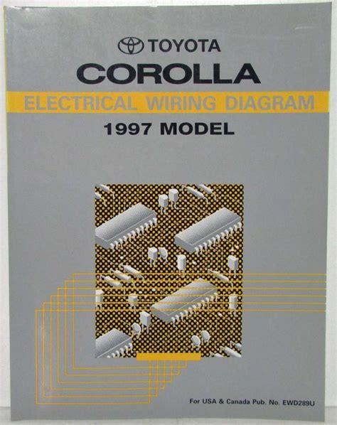 1997 toyota corolla electrical wiring diagram manual us