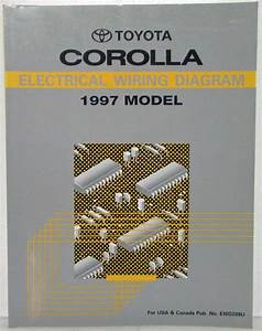 1997 Toyota Corolla Electrical Wiring Diagram Manual Us