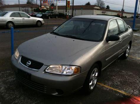 Buy Used 2003 Nissan Sentra Gxe 122k Miles No Reserve Nr