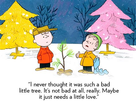 charlie brown christmas tree quotes images