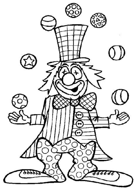 jeu gratuit cuisine coloriage cirque clown en de jongler hugolescargot com