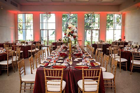 Burgundy & Gold Spanish Villa Wedding
