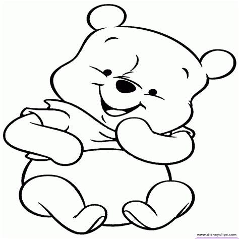 Winnie Pooh Bebe Para Colorear Buscar Con Google