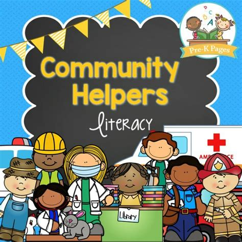 community pictures for preschoolers community helpers literacy pre k pages 111