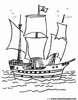 Pirate Ship Coloring Pages Military sketch template