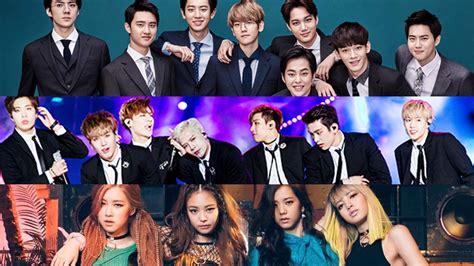 top  kpop bands     popular vote