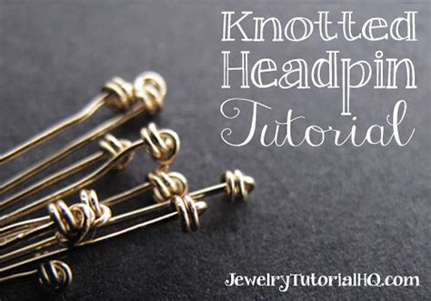How To Make A Knotted Headpin {video} Kendra Scott Jewelry Little Rock Zulu Beaded Indian Gold Jewellery Online Dubai Stores In Maryland Uk Birmingham Amarillo Texas Recovery Domain