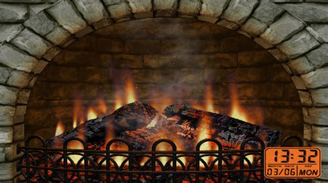 Realistic Fireplace Screensaver - 4 best fireplace software and apps for a