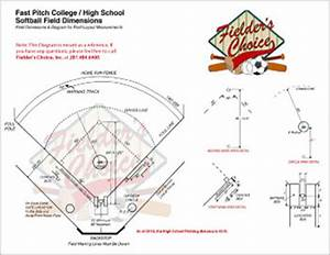 12u Softball Pitching Distance   CINEMAS 93