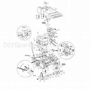 Hayter Condor  511n  Parts Diagram  Mainframe Assy