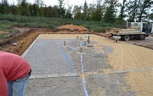 Isolation Dalle Beton Sur Terre Plein : terrasse beton sur terre plein ~ Premium-room.com Idées de Décoration