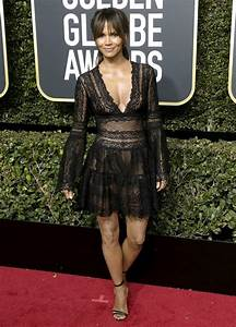 Halle Berry Picture 326 - 2018 Golden Globe Awards - Arrivals