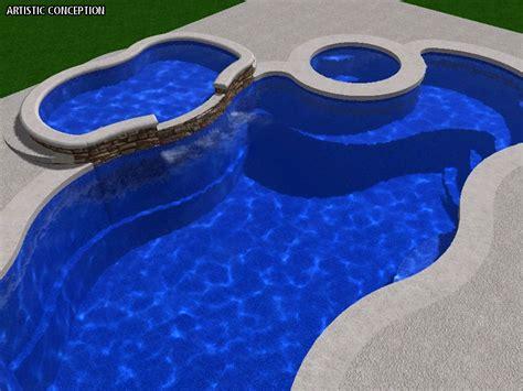 aquamarine pools viking pools tanning ledge swimming
