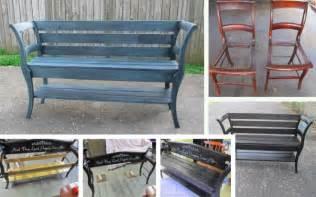 Bank Aus Alten Stühlen aus zwei alten st 252 hlen eine sch 246 ne bank machen cooletipps de