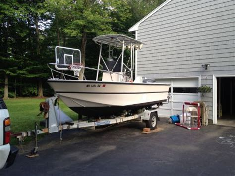 Boats For Sale Framingham Ma by 1986 18 Foot Biddison Center Console Fishing Boat For Sale