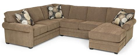 Home Sectional Sofa by Sunset Home 283 Casual Sectional Sofa With Chaise And
