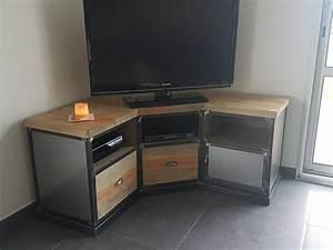 Meuble D Angle Tele : les 25 meilleures id es de la cat gorie meuble tv angle sur pinterest meuble tele angle ~ Teatrodelosmanantiales.com Idées de Décoration