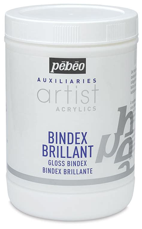 pebeo bindex brillant blick art materials