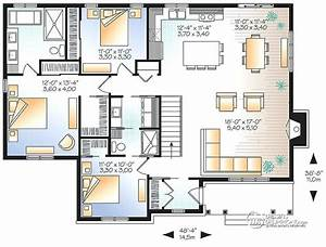 plan maison 3 chambres ventana blog With plan maison plain pied 3 chambres 100m2