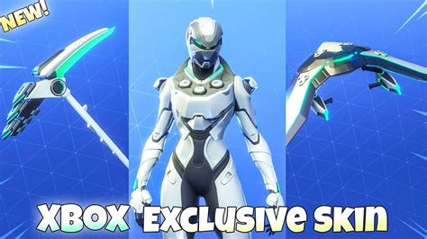 new xbox exclusive skin eon set showcase fortnite battle royale