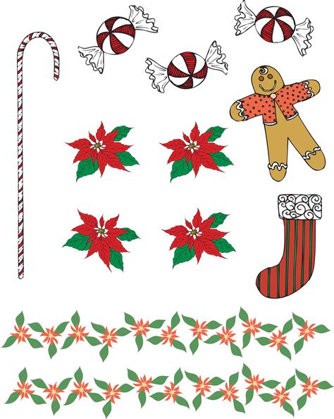 christmas  doodle place page