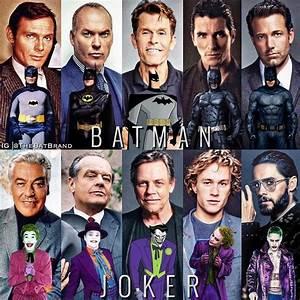 Batman, U0026, Joker, Actors