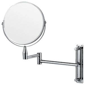 Extending Bathroom Mirrors by Chrome Wall Mounted Extending Folding Vanity