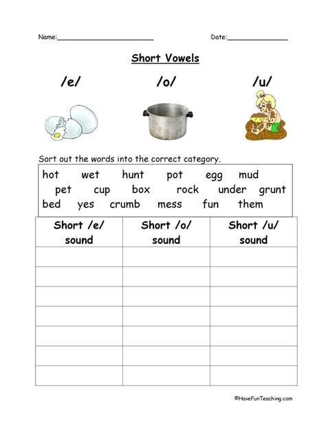 silent e worksheet teaching 4 vowel