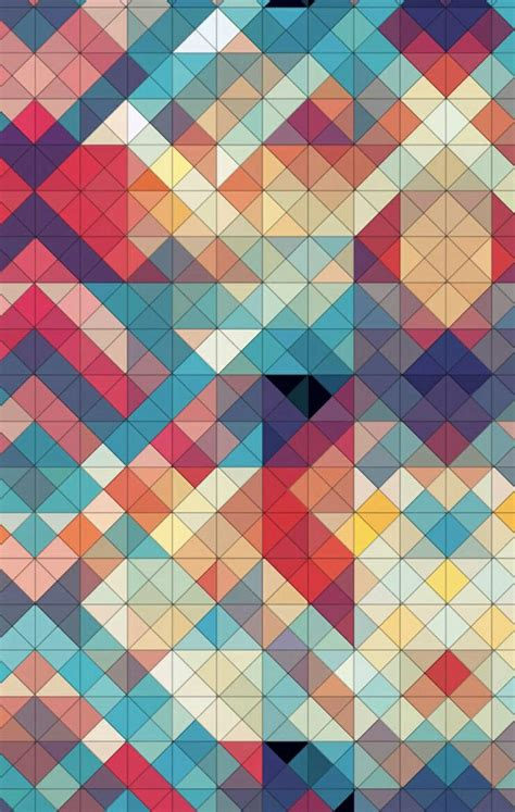 Geometric Wallpaper For Phone by 55 Geometric Phone Wallpapers At Wallpaperbro