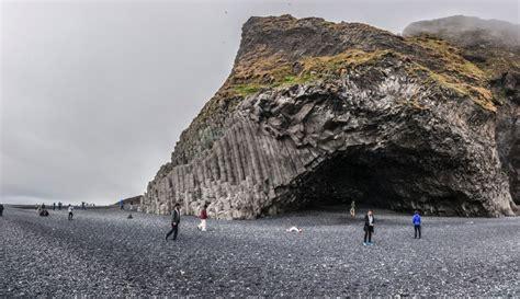 Black Sand Beach The South Coast Of Iceland