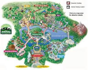 Disney Animal Kingdom Map
