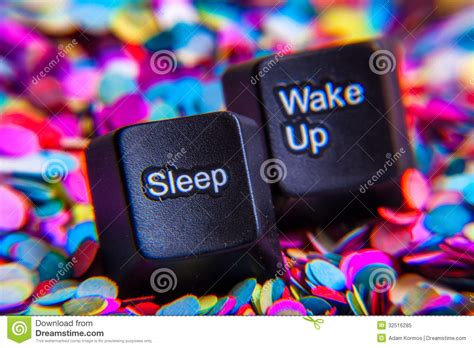 sleep  wake  buttons stock image image  background
