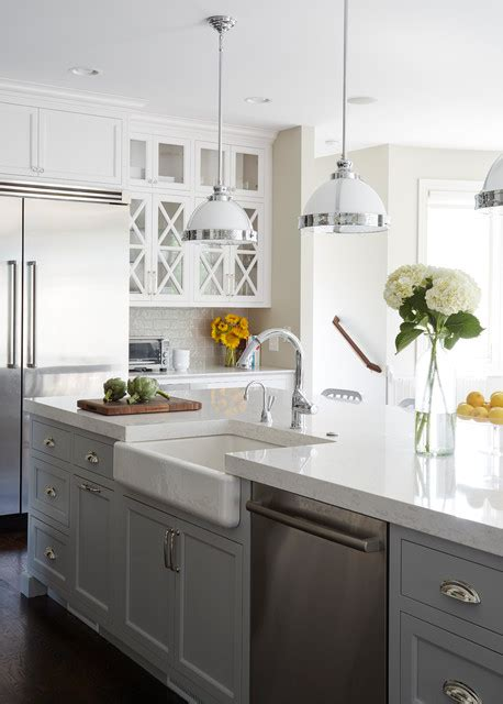 farmhouse kitchen lighting kitchens traditional kitchen chicago by kaskel photo 3705