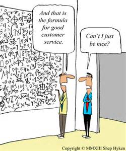 Business Customer Service Cartoon
