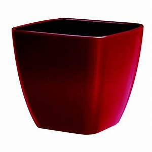 Pot De Fleur Rouge : pot de fleur rouge ~ Melissatoandfro.com Idées de Décoration