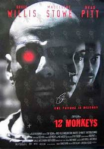12 MONKEYS - '12 Monkeys' Movie Poster (Posters, Regular ...