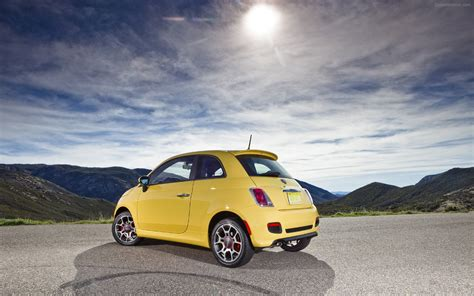 Fiat 500 Wallpaper Widescreen by Fiat 500 2012 Widescreen Car Wallpapers 32 Of 77