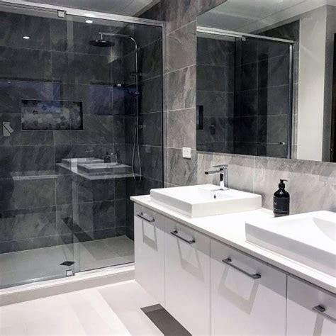 Modern Bathroom Tile Ideas by Top 60 Best Grey Bathroom Tile Ideas Neutral Interior