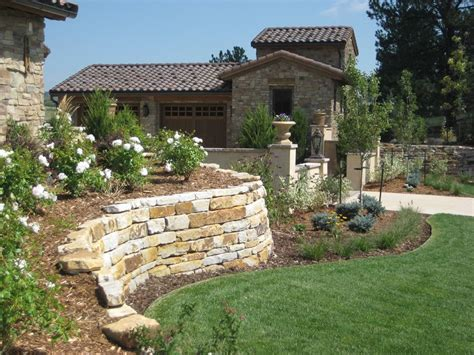 landscape walls retaining wall design landscaping network