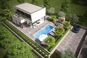 Luftfeuchtigkeit Im Haus : modernes haus mit pool garten u meerblick in malinska ~ Lizthompson.info Haus und Dekorationen