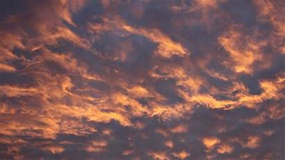 Clouds Sky Aesthetic Yellow Evening Laptop Wallpapers