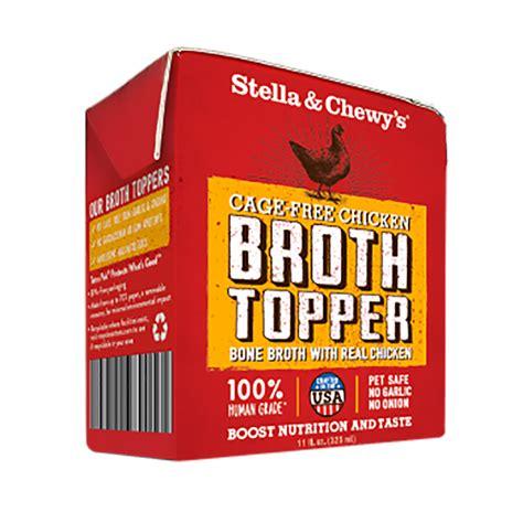 stella chewy broth topper chckn  fl oz