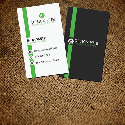 style corporate business card  images
