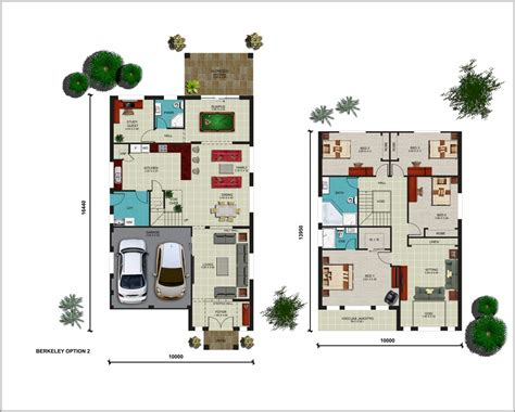 floor master bedroom house plans berkeley option 2