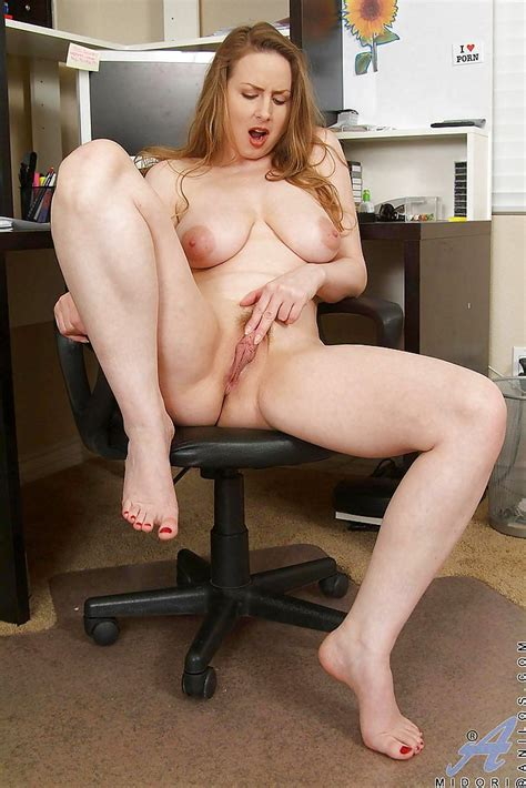 Classy Office Milf Fatty Slowly Strips At Her Workplace