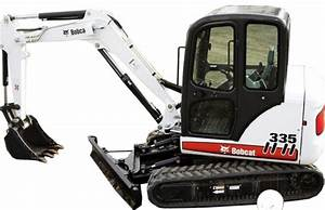Bobcat 335 Compact Excavator Factory Service  U0026 Shop Manual